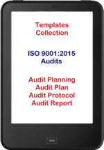 ISO 9001:2015 template collection audit
